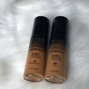 Milani 2-n-1 Foundation Tan & Golden Tan